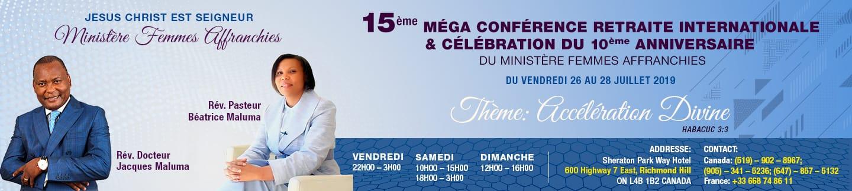 15E Mega conférence internationale